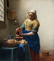 vermeer - milkmaid